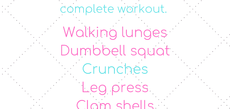 Lower Body and Core Workout