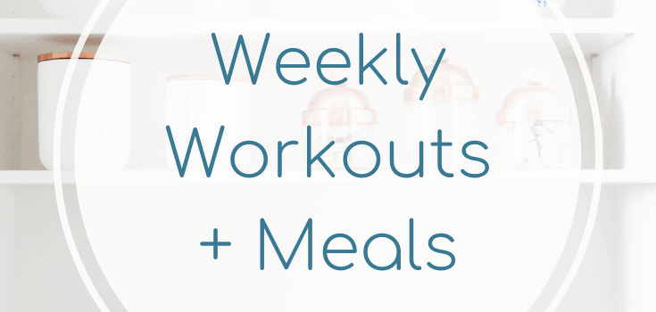 Weekly Workouts + Meals: A Walk and Christmas Treats