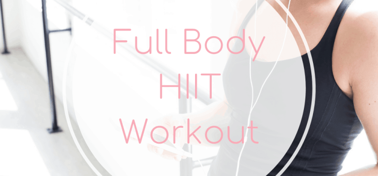 Full Body HIIT Workout