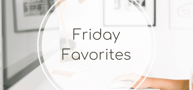 Friday Favorites: Library Book + Chicken Burgers