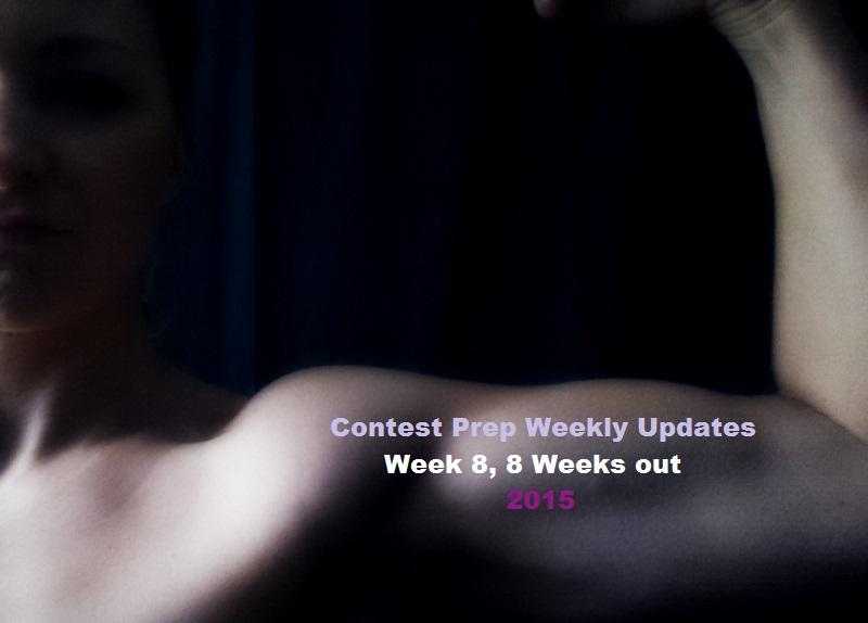 weekly update 8 weeks out