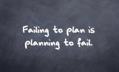 failing to plan