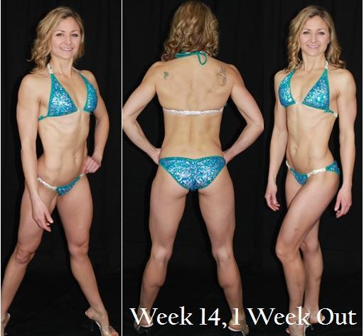 Bikini Week 14, 1 Week Out