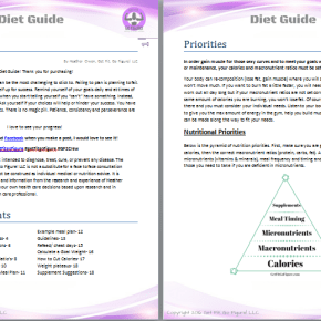 Get Fit. Go Figure! Diet Guide © (e-book)