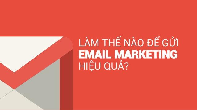 cách viết nội dung email marketing hiệu quả