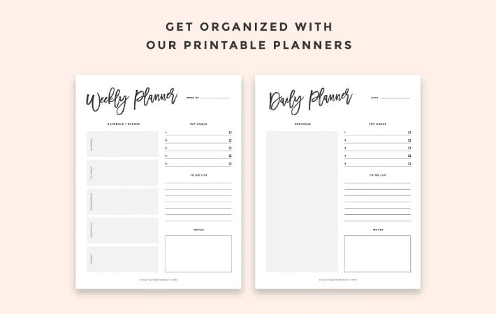 flywheel free printables to help designers stay organized