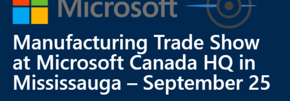 microsoft trade show blog header blue background microsoft logo freepoint logo