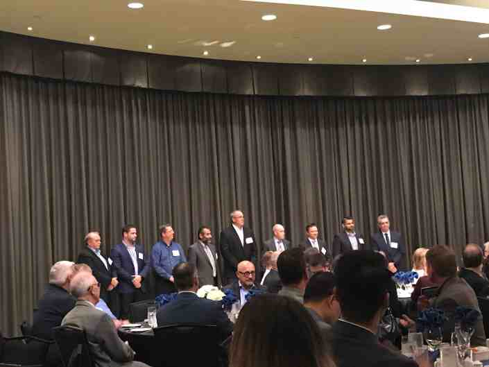 cmta board of directors being appointed at showcase event