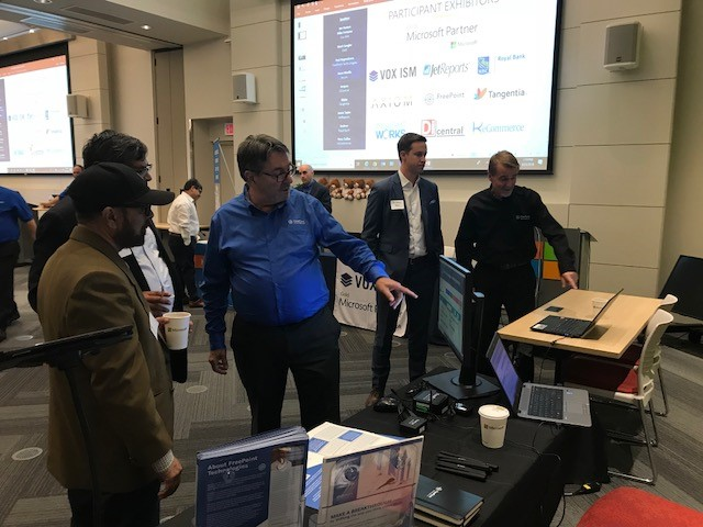 freepoint technologies display trade show customers booth