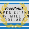 45 million dollars saved freepoint technologies