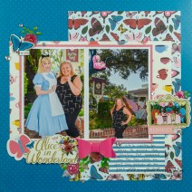 3 Tips to Choose Multi Photo Scrapbook Layouts in the Store Cheshire Cat Layout Scrapbook With Lynda