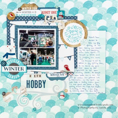 3 Tips to Choose Multi Photo Scrapbook Layouts in the Store Mini Collage Scrapbook Layout Scrapbook With Lynda