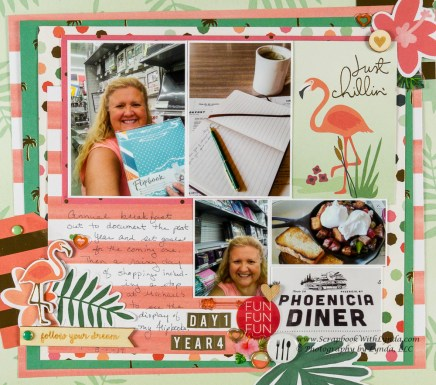 3 Tips to Choose Multi Photo Scrapbook Layouts in the Store Scrapbook Layout Inspiration From Pocket Card Scrapbook