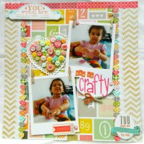 3 Tips to Choose Multi Photo Scrapbook Layouts in the Store She Is Crafty Layout Jennie Garcia Tombow Usa Blog