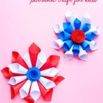 4th Of July Paper Crafts 4th Of July Paper Cone Wreath Featured 1 2