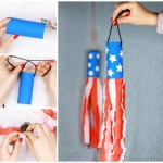 4th Of July Paper Crafts 4th Of July Windsock Toilet Paper Roll Craft For Kids