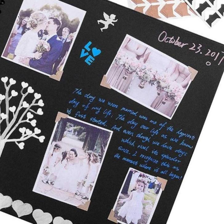 A Baby Book Scrapbook for a Photo Album