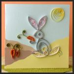 Card Paper Craft Quilling Thumper Greeting Card Paper Craft card paper craft|getfuncraft.com