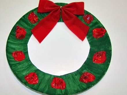 Paper Plate Crafts for Christmas