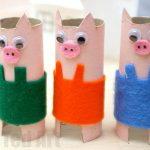 Craft Ideas For Toilet Paper Rolls Pig Crafts Kids 2 600x400 craft ideas for toilet paper rolls|getfuncraft.com
