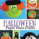 Craft Ideas Using Paper Plates Halloween Paper Plate Crafts craft ideas using paper plates|getfuncraft.com