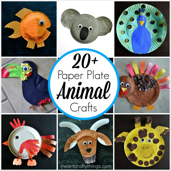 Craft Ideas Using Paper Plates Paper Plate Animal Crafts 2 1 craft ideas using paper plates|getfuncraft.com