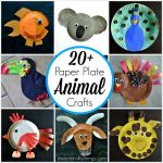 Craft Ideas Using Paper Plates Paper Plate Animal Crafts 2 1