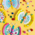 Craft Ideas Using Paper Plates Paper Plate Crafts Butterflies