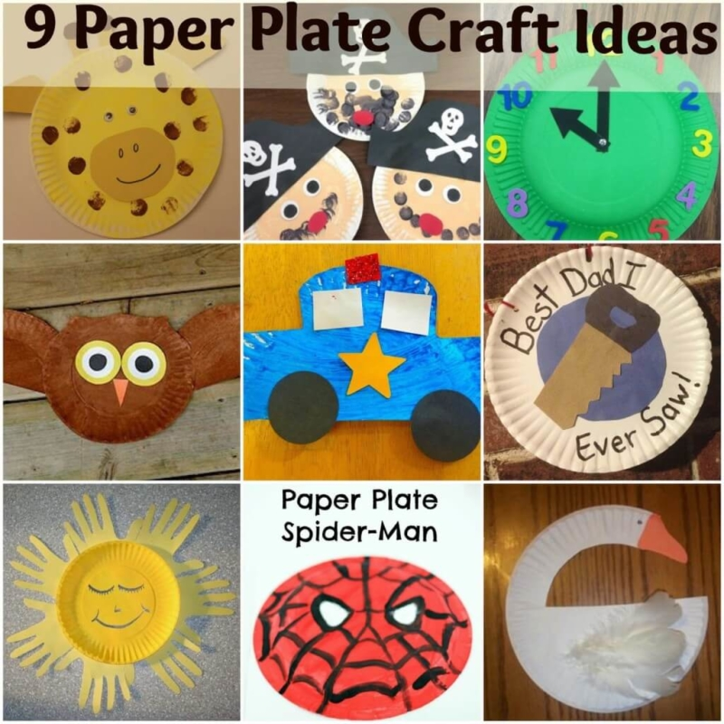 Craft Ideas Using Paper Plates Paper Plate Crafts craft ideas using paper plates|getfuncraft.com