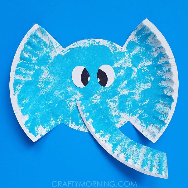 Craft Ideas Using Paper Plates Paper Plate Elephant Craft 2 craft ideas using paper plates|getfuncraft.com