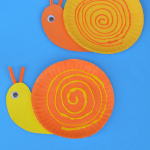 Craft Ideas Using Paper Plates Paper Plate Snails