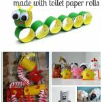 Crafts From Toilet Paper Rolls Toilet Paper Roll Craft Ideas Collage crafts from toilet paper rolls|getfuncraft.com