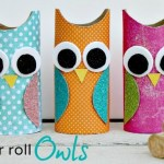 Crafts From Toilet Paper Rolls Toilet Paper Roll Owls crafts from toilet paper rolls|getfuncraft.com