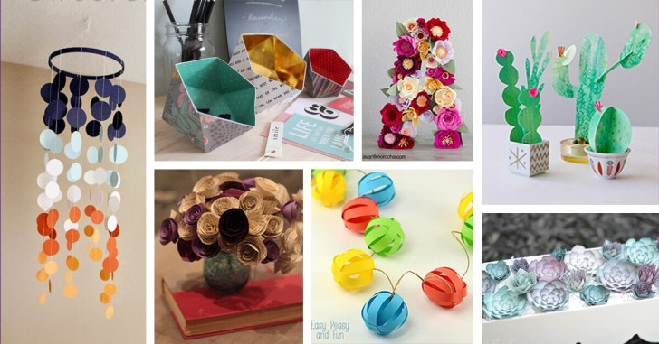 Crafts To Make With Paper