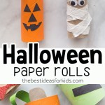 Crafts With Toilet Paper Rolls Halloween Craft For Kids Halloween Toilet Paper Rolls