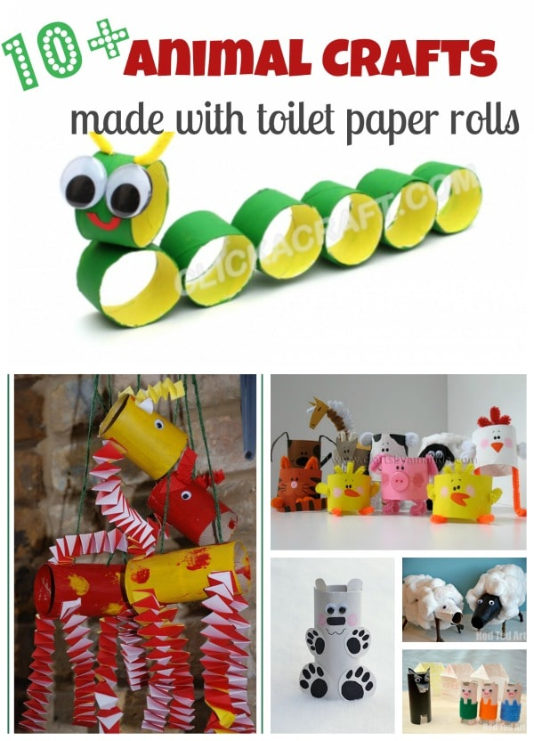 Crafts With Toilet Paper Rolls Toilet Paper Roll Craft Ideas Collage crafts with toilet paper rolls |getfuncraft.com