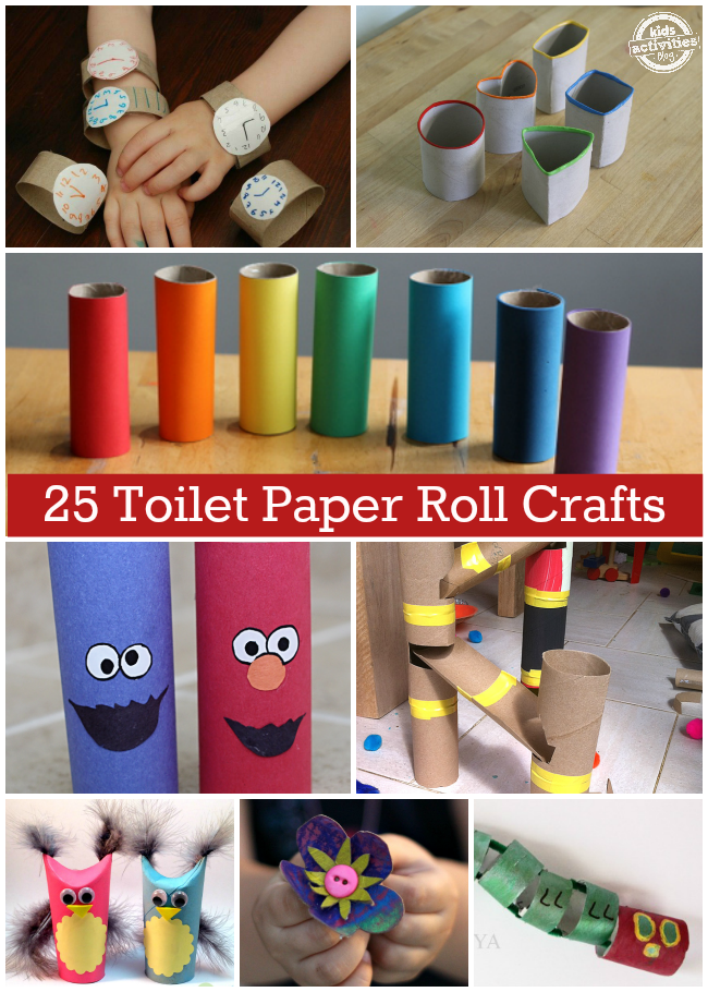 Crafts With Toilet Paper Rolls Toilet Paper Roll Crafts crafts with toilet paper rolls |getfuncraft.com