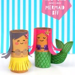 Crafts With Toilet Paper Rolls Tp Roll Mermaid Mollymoo2