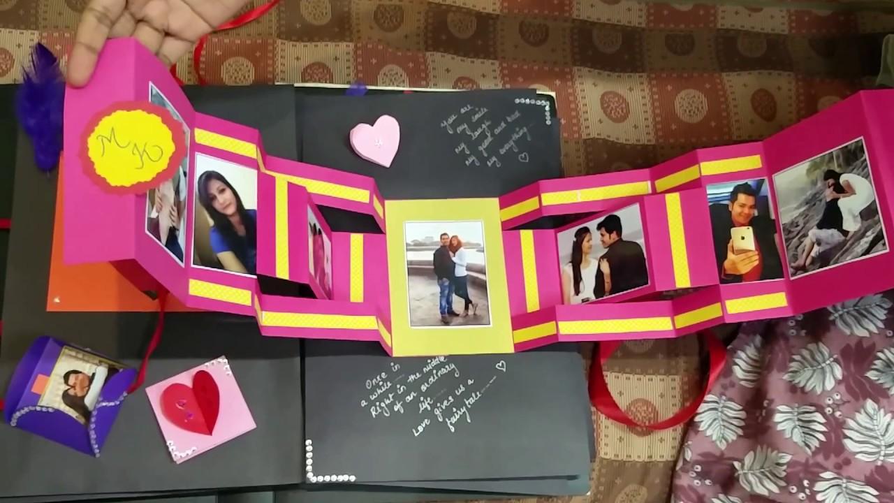 Creative Relationship Scrapbook Ideas Scrapbook For A Couple