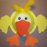 Duck Paper Plate Craft Paper Plate Duck Craft For Kids duck paper plate craft|getfuncraft.com
