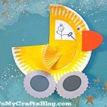 Duck Paper Plate Craft Paper Plate Duck Truck Kid Craft 1
