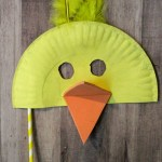 Duck Paper Plate Craft Paper Plate Mask Craft For Kids Post8 duck paper plate craft|getfuncraft.com