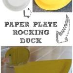 Duck Paper Plate Craft Paperplateduck duck paper plate craft|getfuncraft.com