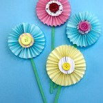 Flower From Paper Craft Easy Paper Flower Craft 3