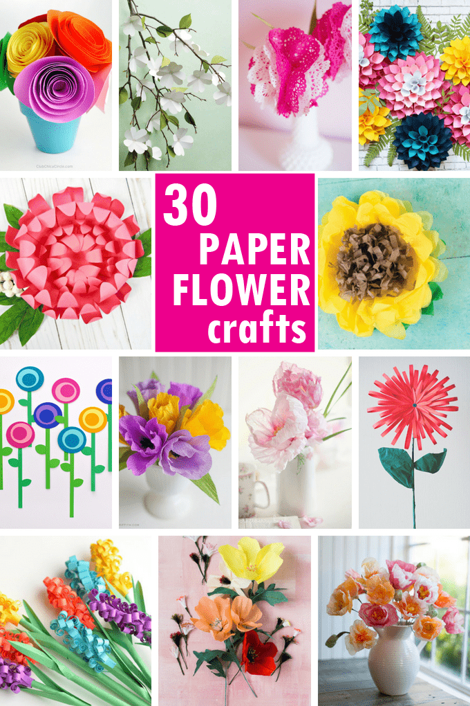 Flower From Paper Craft Paper Flowers Roundup Image Hero flower from paper craft|getfuncraft.com
