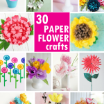 Flower From Paper Craft Paper Flowers Roundup Image Hero