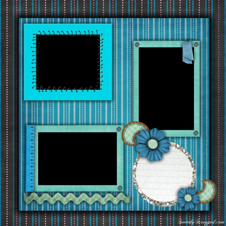 Get More Spring Scrapbook Layouts Ideas