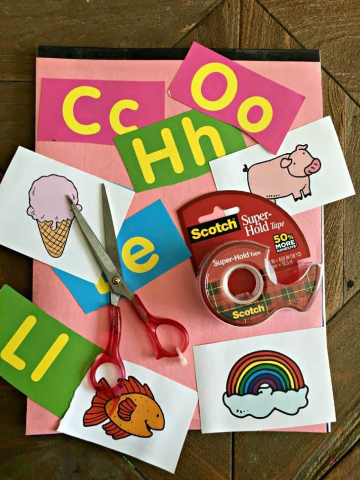 How to Create Simple yet Beautiful Scrapbook for Kids