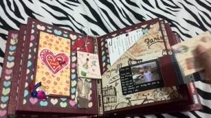 Lovable Couple Scrapbook Pages Ideas Diy Scrapbook For Boyfriend