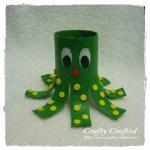 Octopus Toilet Paper Roll Craft 15 octopus toilet paper roll craft getfuncraft.com